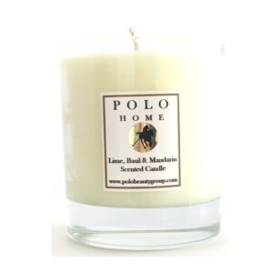 Lime, Basil & Mandarin Scented Candle